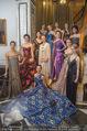 Couture Salon mit Humanic - Hotel Birstol - Mo 29.01.2018 - Gruppenfoto Solot�nzerinnen K�nstlerinnen auf Stiege80