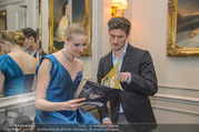 Couture Salon mit Humanic - Hotel Birstol - Mo 29.01.2018 - Olga ESINA, Eno PECI87