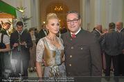 Jägerball - Hofburg - Mo 29.01.2018 - HC Heinz Christian STRACHE mit Ehefrau Philippa (BECK)35