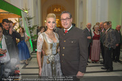 Jägerball - Hofburg - Mo 29.01.2018 - HC Heinz Christian STRACHE mit Ehefrau Philippa (BECK)36