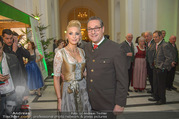 Jägerball - Hofburg - Mo 29.01.2018 - HC Heinz Christian STRACHE mit Ehefrau Philippa (BECK)37