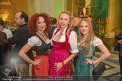 Jägerball - Hofburg - Mo 29.01.2018 - Christina und Jacqueline LUGNER, Ekaterina MUCHA69