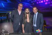 60 Jahre Stadthalle PK - Stadthalle - Di 30.01.2018 - Kurt GOLLOWITZER, Wolfgang FISCHER, Conchita (WURST)32