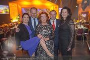 Seitenblicke Gala - Interspot Studios - Di 30.01.2018 - Inge KLINGOHR mit S�hnen Nils und Niki und deren Frauen3