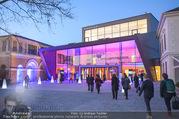 Österreichischer Filmpreis - Schloss Grafenegg - Mi 31.01.2018 - Grafenegg, Architektur von au�en, Ankunft der G�ste, Veranstal1