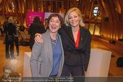 Swarovski Podiumsdiskussion - TU Wien Kuppelsaal - Mi 07.02.2018 - Nadja SWAROVSKI, Helene VAN DAMM17
