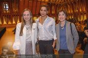 Swarovski Podiumsdiskussion - TU Wien Kuppelsaal - Mi 07.02.2018 - Maria GRO�BAUER, Rebecca HORNER, Helene VAN DAMM29