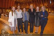 Swarovski Podiumsdiskussion - TU Wien Kuppelsaal - Mi 07.02.2018 - Maria GRO�BAUER, Rebecca HORNER, Helene VAN DAMM, Nadja SWAROVS33