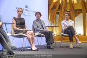 Swarovski Podiumsdiskussion - TU Wien Kuppelsaal - Mi 07.02.2018 - Susanne WUEST, Helene VAN DAMM, Rebecca HORNER38