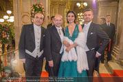 Opernball 2018 - Wiener Staatsoper - Do 08.02.2018 - Valentina NAFORNITA, Pavol BRESLIK, Frederic CHASLIN, Dominique 54