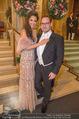 Opernball 2018 - Wiener Staatsoper - Do 08.02.2018 - Hila FAHIMA mit Freund Benjamin RUSCHIN62