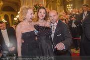 Opernball 2018 - Wiener Staatsoper - Do 08.02.2018 - Sunnyi MELLES mit Tochter Prinzessin Leonille zu Sayn-Wittgenste121