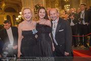 Opernball 2018 - Wiener Staatsoper - Do 08.02.2018 - Sunnyi MELLES mit Tochter Prinzessin Leonille zu Sayn-Wittgenste122