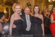 Opernball 2018 - Wiener Staatsoper - Do 08.02.2018 - Sunnyi MELLES mit Tochter Prinzessin Leonille zu Sayn-Wittgenste123