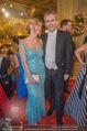 Opernball 2018 - Wiener Staatsoper - Do 08.02.2018 - Hartwig L�GER mit Ehefrau Claudia146