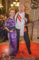 Opernball 2018 - Wiener Staatsoper - Do 08.02.2018 - Michael H�UPL mit Barbara (H�RNLEIN)160