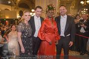 Opernball 2018 - Wiener Staatsoper - Do 08.02.2018 - Sebastian KURZ, Susanne THIER, Waris DIRIE162