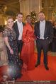 Opernball 2018 - Wiener Staatsoper - Do 08.02.2018 - Sebastian KURZ, Susanne THIER, Waris DIRIE163