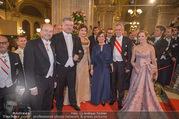 Opernball 2018 - Wiener Staatsoper - Do 08.02.2018 - Petro POROSCHENKO, Alexander VAN DER BELLEN, Doris SCHMIDAUER, M173
