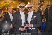 Opernball 2018 - Wiener Staatsoper - Do 08.02.2018 - Botox-Boys WESS Doubles200