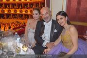 Opernball 2018 - Wiener Staatsoper - Do 08.02.2018 - Lily JAMES, Viktoria und Heiner LAUTERBACH246