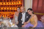Opernball 2018 - Wiener Staatsoper - Do 08.02.2018 - Lily JAMES, Viktoria und Heiner LAUTERBACH248