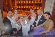 Opernball 2018 - Wiener Staatsoper - Do 08.02.2018 - Klemens HALLMANN, Barbara MEIER, Lily JAMES, Viktoria und Heiner250
