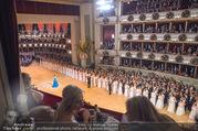 Opernball 2018 - Wiener Staatsoper - Do 08.02.2018 - Festsaal, Baller�ffnung, Blick aus einer Loge, �bersichtsfoto259