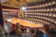 Opernball 2018 - Wiener Staatsoper - Do 08.02.2018 - Festsaal, Baller�ffnung, Blick aus einer Loge, �bersichtsfoto262