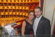Opernball 2018 - Wiener Staatsoper - Do 08.02.2018 - Franko FODA mit Ehefrau Andrea273
