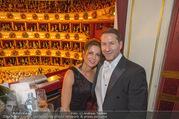 Opernball 2018 - Wiener Staatsoper - Do 08.02.2018 - Franko FODA mit Ehefrau Andrea274