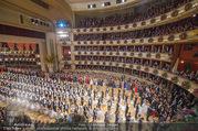 Opernball 2018 - Wiener Staatsoper - Do 08.02.2018 - Festsaal, Baller�ffnung, Blick aus einer Loge, �bersichtsfoto282