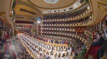 Opernball 2018 - Wiener Staatsoper - Do 08.02.2018 - Festsaal, Baller�ffnung, Blick aus einer Loge, �bersichtsfoto283