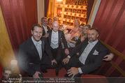 Opernball 2018 - Wiener Staatsoper - Do 08.02.2018 - Logen-Gruppenfoto Franko FODA, Kurz MANN, Robert HOHENSINN284