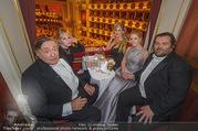 Opernball 2018 - Wiener Staatsoper - Do 08.02.2018 - Melanie GRIFFITH, Richard LUGNER, Simona, Waldemar FESTENB286