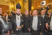Opernball 2018 - Wiener Staatsoper - Do 08.02.2018 - Harald GL��CKLER, Melanie GRIFFITH, Richard LUGNER296