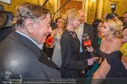 Opernball 2018 - Wiener Staatsoper - Do 08.02.2018 - Cathy LUGNER interviewt Melanie GRIFFITH und Richard LUGNER303