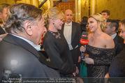 Opernball 2018 - Wiener Staatsoper - Do 08.02.2018 - Cathy LUGNER interviewt Melanie GRIFFITH und Richard LUGNER305