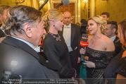 Opernball 2018 - Wiener Staatsoper - Do 08.02.2018 - Cathy LUGNER interviewt Melanie GRIFFITH und Richard LUGNER306