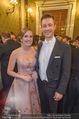 Opernball 2018 - Wiener Staatsoper - Do 08.02.2018 - Maria GRO�BAUER GROSSBAUER, Gernot BL�MEL311
