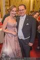 Opernball 2018 - Wiener Staatsoper - Do 08.02.2018 - Maria GRO�BAUER GROSSBAUER mit Ehemann Andreas312