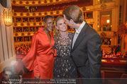 Opernball 2018 - Wiener Staatsoper - Do 08.02.2018 - Sebastian KURZ mit Freundin Susanne THIER, Waris DIRIE328