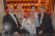 Opernball 2018 - Wiener Staatsoper - Do 08.02.2018 - Georg STUMPF, Patricia SCHALKO, Kathi STUMPF, Alex BEZA345