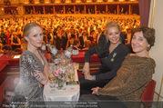 Opernball 2018 - Wiener Staatsoper - Do 08.02.2018 - Susanne WUEST, Nadja SWAROVSKI, Helene VAN DAMME356