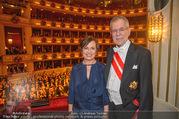 Opernball 2018 - Wiener Staatsoper - Do 08.02.2018 - Alexander VAN DER BELLEN, Doris SCHMIDAUER365