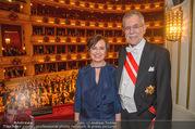 Opernball 2018 - Wiener Staatsoper - Do 08.02.2018 - Alexander VAN DER BELLEN, Doris SCHMIDAUER366