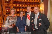 Opernball 2018 - Wiener Staatsoper - Do 08.02.2018 - Sabine HAAG, Alexander VAN DER BELLEN, Doris SCHMIDAUER, Gery KE367