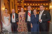 Opernball 2018 - Wiener Staatsoper - Do 08.02.2018 - Alexander VAN DER BELLEN, Doris SCHMIDAUER369