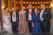 Opernball 2018 - Wiener Staatsoper - Do 08.02.2018 - Alexander VAN DER BELLEN, Doris SCHMIDAUER370