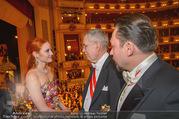 Opernball 2018 - Wiener Staatsoper - Do 08.02.2018 - Barbara MEIER, Alexander VAN DER BELLEN, Klemens HALLMANN371